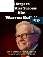 5 Steps to Prioritize Success Like Warren Buffett 1