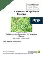 Fiches Legumes JA 2010