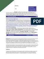 Tonsillitis and Peritonsillar Abscess