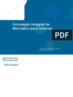 Cursos Estrategia Mercadeo Internet 2012