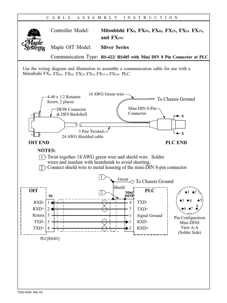 8 pin mini din wiring diagram 10230024 electrical connector telecommunications  10230024 electrical connector
