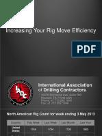 Increasing Rig Move Efficiency