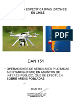 Normativa Específica de Drones Chile