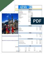 Bogota Colombia EstimativaFinanceira