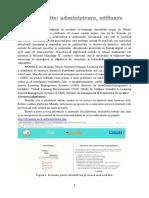 II.1 Proiectarea Unui Curs Interactiv Utilizind Platforma de Instruire Moodle