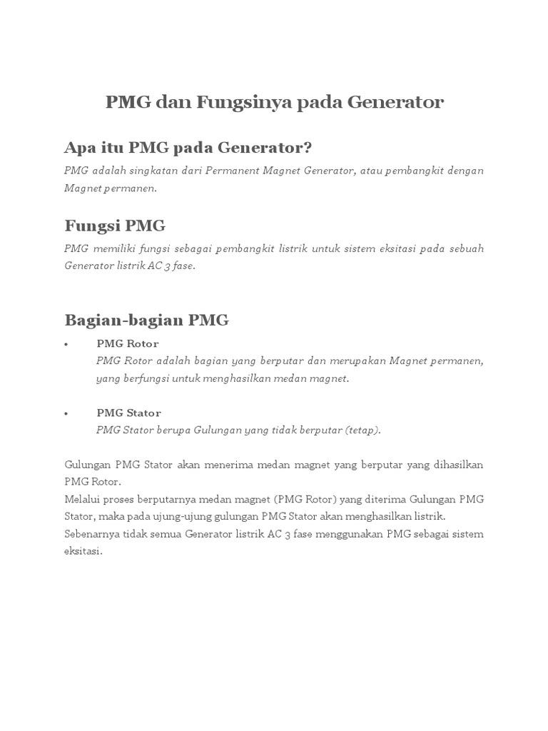 Apakah Perbedaan Generator Ac Dan Generator Dc - Tips ...
