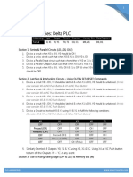 PLC Basic Exercises for Delta