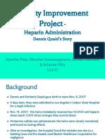 qi presentation  heparin administration pptx