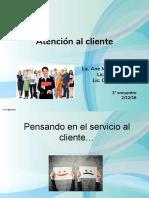 Atencion Al Cliente 2016