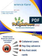 PeoplePawn PowerPoint Presentation