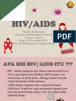Penyuluhan HIV AIDS