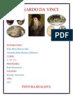 Leonardo Da Vinci Informe de Artes