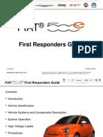 FIAT 500e First Responders Guide