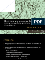 Identifying and Measuting Land-use and Proximitu Conflicts