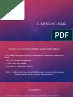 El Mercantilismo (Power Point)