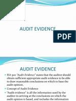 Audit Evidence.2013
