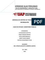 Proyecto Ministerio