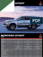 20160812 Montero Sport Diesel