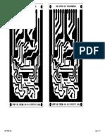 PCB Wizard - Professional Edition - AMP 300W (Lado de Las Pistas)