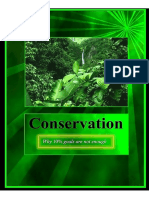 Conservation - Why 10% goals are not enough