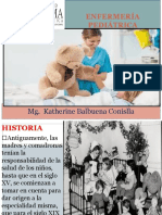 Enfermería Pediátrica Cuidado Del Niño - La Salud Actual Del Niño