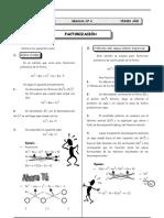 II T- 3er. Año - ALG - Guía 6 - Factorización VI