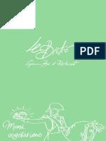 Le Bistro Restaurante Valladolid Carta Vegetaniana v17 1 (1)