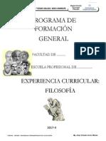INTRODUCCION A LA FILOSOFÍA