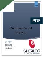Distribución Del Espacio Grupo 8