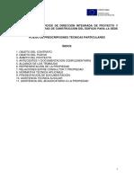 PLIEGO PROJECT MANAGER IMDEA ENERGIA - Prescripciones Técnicas Particulares.pdf