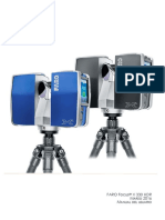 E1477 FARO Laser Scanner Focus3DX330HDR Manual ES