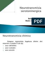 Transmisia Serotoninergica - Balaceanu Petru
