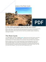 Rocks and Processes of the Rock Cycle