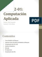 EIQ542-01 Bloques y Optimizacion