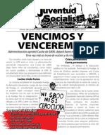 Vencimos y venceremos, Boletín Especial, Agosto 2010