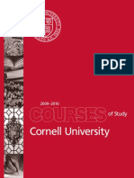 Courses of Study 2009-2010