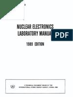 Nuclear Electronics Laboratory Manual (IAEA TECDOC-530) (1989) WW