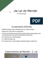 Aula 3 - Segunda Lei de Mendel.pptx
