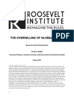 The Overselling of Globalization