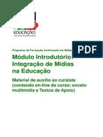 Midias Educacao-Modulo Introdutorio Integracao Midias Educacao
