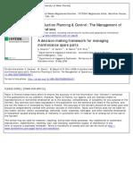 Cavalieri, S.; Garetti, M.; Macchi, M.; Pinto, R. -- A decision-making framework for managing maintenance Spare Parts.pdf
