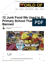 12 Junk Food We Used to Eat in Primary School That Are Now Banned - WORLD of BUZZ
