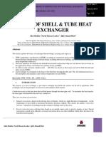 Basics of Exchanger Thermal Design