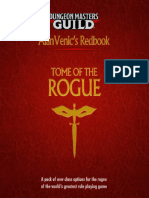 D&D5e - Class - Alanvenic Tome of the Rogue