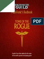 D&D5e - Class - Alanvenic Tome of the Rogue