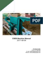CSEB Machine Manual - 20170809