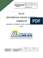Plan de Prevencion de Riesgos Seguridad y Salud Ocupacional
