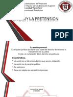 La Accion y La Pretension.
