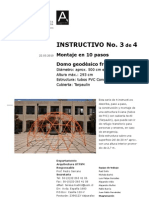 Como Fabricar Domo Geodesico 3 de 4