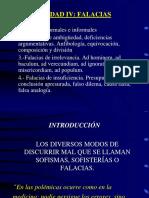 14 - Falacias - Unidad IV -Rev